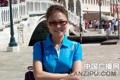 中央人民广播电台中国之声 张蕾照片