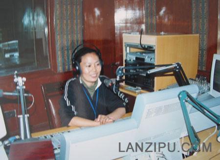 西藏人民广播电台都市生活 朱洪英照片